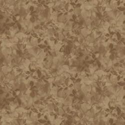Floral Shading - BROWN
