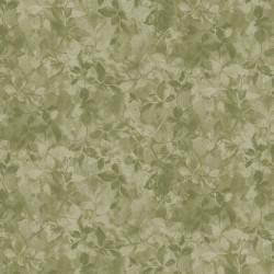 Floral Shading - OLIVE