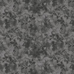 Floral Shading - DARK GREY