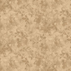 Floral Shading - LIGHT BROWN