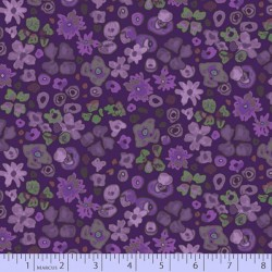 Small Floral - PURPLE