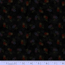 Faded Blooms - BLACK
