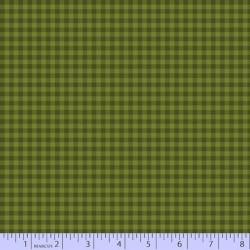 Mix & Mingle Flannel - DK GREEN