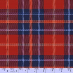 Mix & Mingle Flannel - RED BLUE