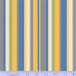Dot Stripe - BLUE YELLOW