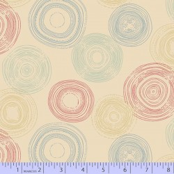 Circles - BEIGE