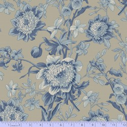 Blue Flower - MED BLUE
