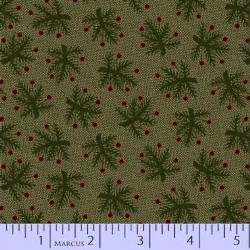 BERRY BOUGH REPRODUCTION - GREEN