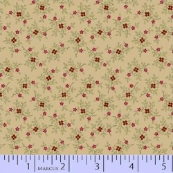BERRY SPRIG REPRODUCTION - CREAM