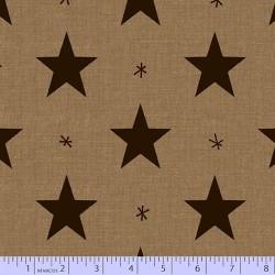 Folk Art Stars - BEIGE