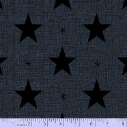 Folk Art Stars - BLUE
