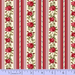 WALLPAPER STRIPE - RED