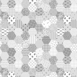 TINY HEXIES - LT GREY