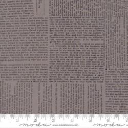 "108"" Wideback Newsprint Tex - STONE"