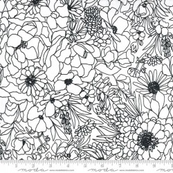 Modern Florals PVC Coated - PAPER