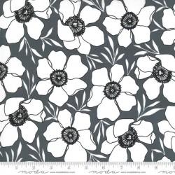Moody Florals - GRAPHITE