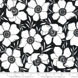 Moody Florals PVC Coated - INK