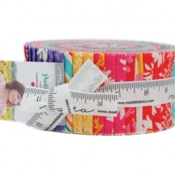 PAINTED GARDEN JELLY ROLL
