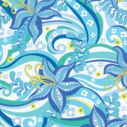 "Kiamesha Rayon (54"" wide) - BLUE"
