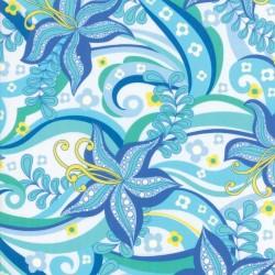 "Kiamesha Rayon (54"" wide) - BLUE"