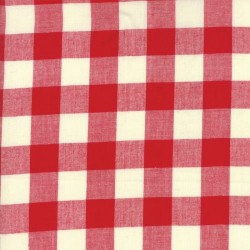 WOVEN CHECK - RED
