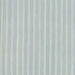 SILKY PLAID - STRIPE - LT BLUE