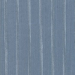 SILKY PLAID STRIPE - MED BLUE