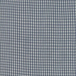 SILKY PLAID PLAID - MED BLUE