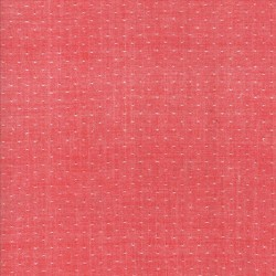DOT WOVEN - RED