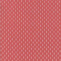 French Sashiko - FADED RED