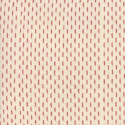 French Sashiko - PEARL/RED