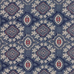 INDIAN CHINTZ - NAVY