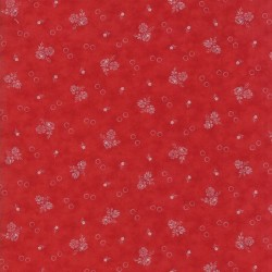 GARDEN FLOWERS - RED