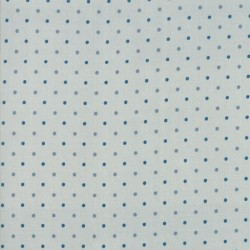DOTS - CREAM/BLUE