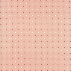 DOTS - CREAM/RED