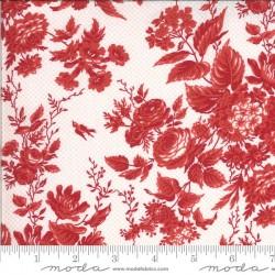 Floral - ROSE/RED