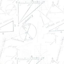 Modern BG Paper - METRICS - SILVER WHITE