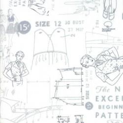 CLOTH PATTERN - WHITE