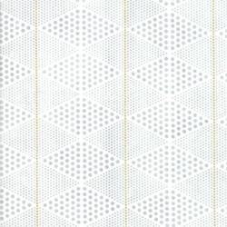 DIAMONDS - CHALK/GOLD