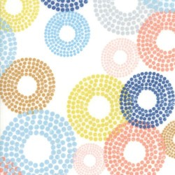 Dottie Circles - WHITE
