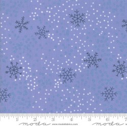 Snowflakes - STEEL BLUE