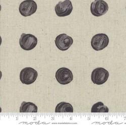 Snowballs Linen Metallic - LINEN/CHARCOAL