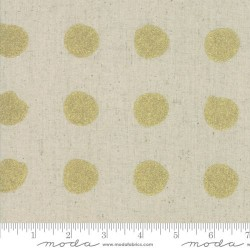 Snowballs Linen Metallic - LINEN/GOLD