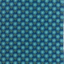 SPIRAL FLORAL - PRUSSIAN BLUE