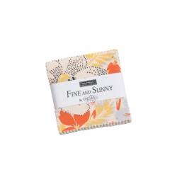 Fine and Sunny Mini charm Pk