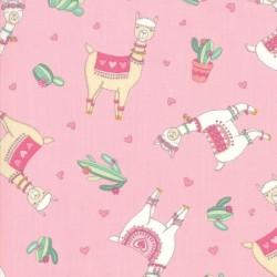 LLama Love Toss -  PRETTY PINK
