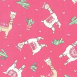 LLama Love Toss - ROSY PINK