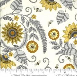 Sunflower Garden - PARCHMENT