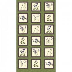 Panel - Violet Hill 60cm - CELERY