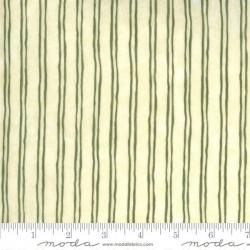 Pinstripe - EGGSHELL/CELERY